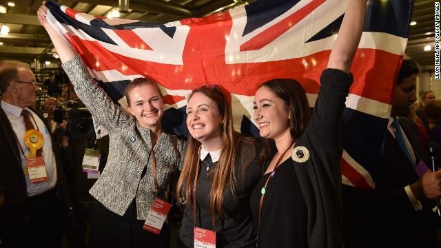 OPINIÓN: Por qué el resultado del referéndum en Escocia alivia a los aliados de Reino Unido