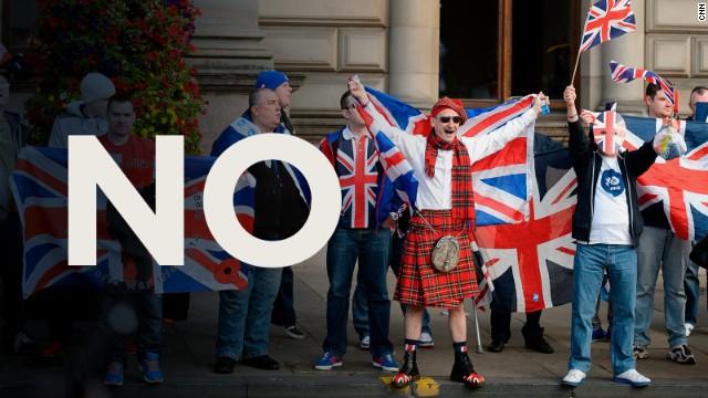 Escócia rejeita independência