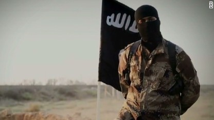 Is fighter in ISIS video North American?