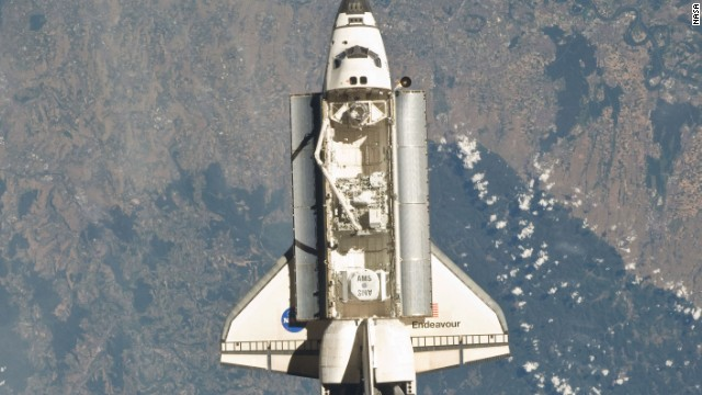 The AMS was delivered to the International Space Station in May 2011 by the Space Shuttle Endeavour.