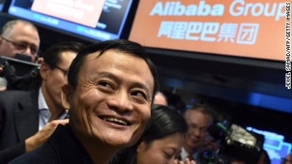 Jack Ma is now China's richest man