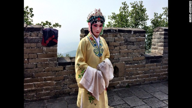 "CHINA: ""More than 100 residents of Beijing - both local and expatriate - climbed the Great Wall and staged performances on the iconic site on Saturday to raise awareness of HIV/AIDS in China."" - CNN's Steven Jiang, September 20. Follow Steven (@stevencnn) and other CNNers along on Instagram at instagram.com/cnn."
