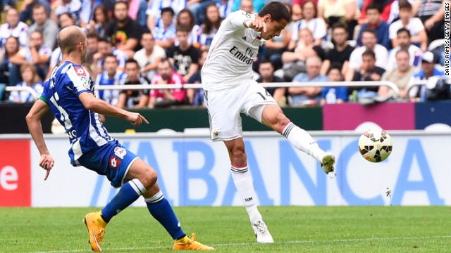 Home side Deportivo pulled another goal back before Javier Hernandez, who came on for Bale, scored two late goals to open his account for the 10-time European champion since joining on loan from Manchester United.