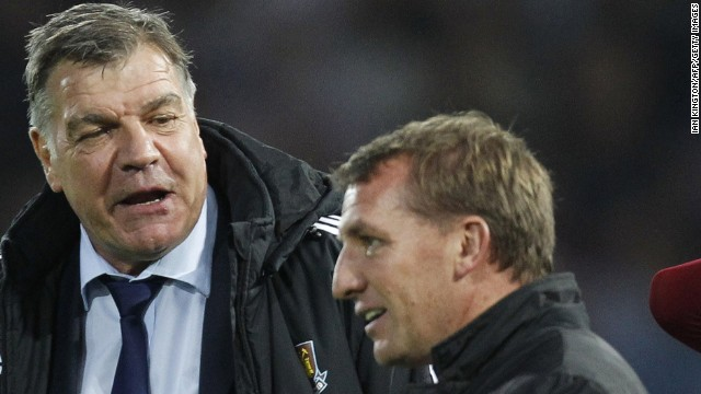 It was a sweet victory for West Ham manager Sam Allardyce (left) who had chided Liverpool before the match for throwing away last season's title in the closing games.