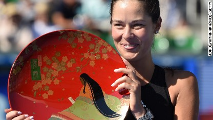 Tennis: Ivanovic marches to fourth title