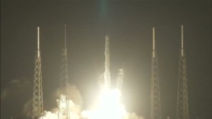 SpaceX mission takes 3-D printer to space.