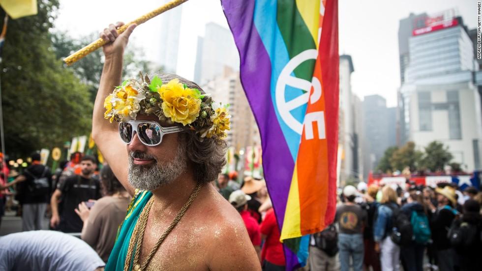 Marchas piden acción contra el cambio climático