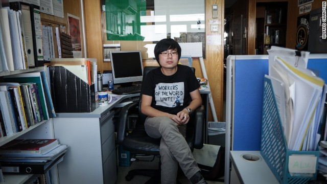 "24-year-old Samuel Li is the former secretary general of the Hong Kong Federation of Students. ""I have been in contact with activists in China,"" he told CNN last year. ""They are really interested in social movements in Hong Kong."""