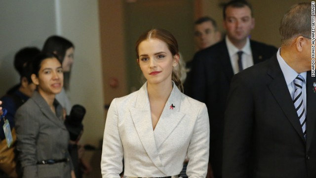 Actress Emma Watson, a U.N. goodwill ambassador, joins U.N. Secretary-General Ban Ki-moon for the launch of the HeForShe campaign Saturday, September 20, at the United Nations. Watson's speech on gender equality has gone viral. Here are some other celebrities' forays into international diplomacy: