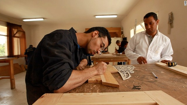 At Cfqma Fes Crafts, 150 master craftsman teach the next generation of artisans a range of 25 different crafts.