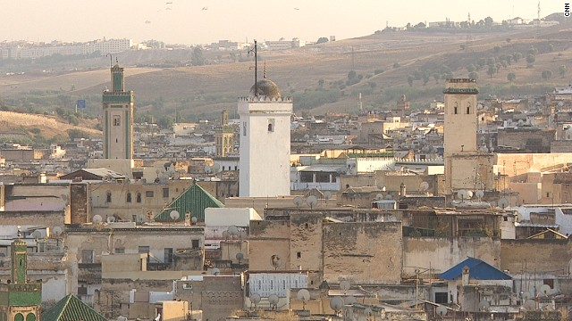 The oldest section of Fes is the walled settlement, or medina, of Fes El Bali.