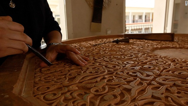 To ensure traditional craftsmanship never disappears, an artisan school called Cfqma Fes Crafts opened five years ago just outside the medina walls.