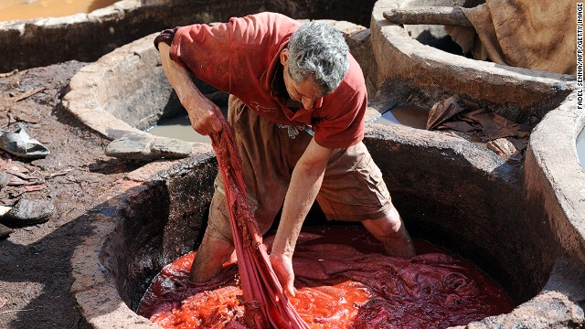 Perhaps one of the most iconic sites is that of the city's tanneries, including the 11th century Chouara Tannery.