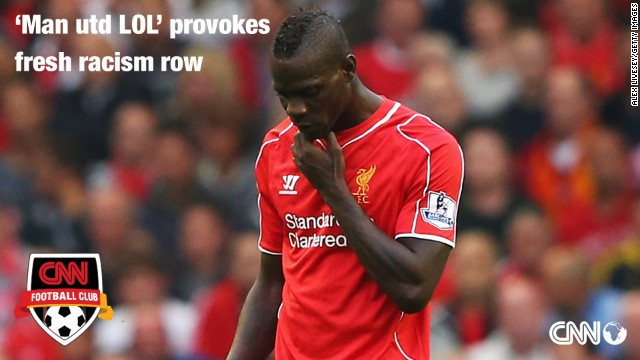 Not for the first time in his career, Mario Balotelli finds himself at the center of a racist abuse storm...