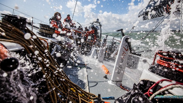 Team Alvimedica will be the youngest team tackling the 2014-15 Volvo Ocean Race.