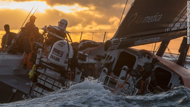 And the sun is setting on their final preparations before heading to the start in Alicante, Spain, in October.