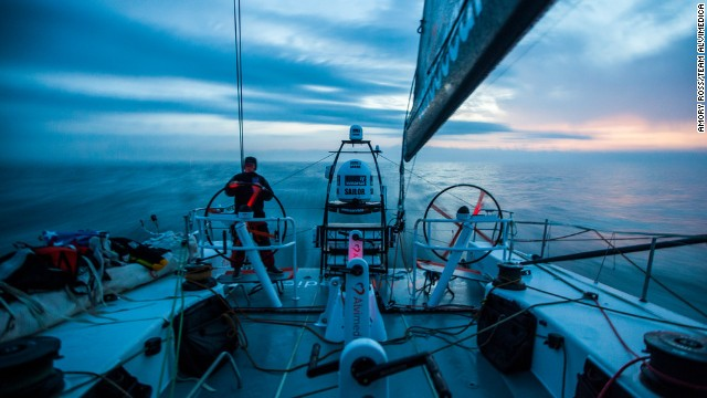 The team of predominantly American sailors had to raise $21 million in order to compete in the world's toughest race.