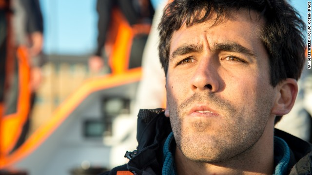 Towill (pictured) admits that tempers will be frayed as the stress and lack of sleep takes its toll on the two friends and their crew during the nine-month race.