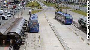 Subway on wheels transports millions