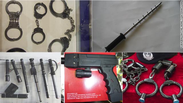 Amnistía: Herramientas de tortura chinas son usadas en violaciones de DD.HH.
