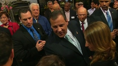 Christie loses weight, builds profile
