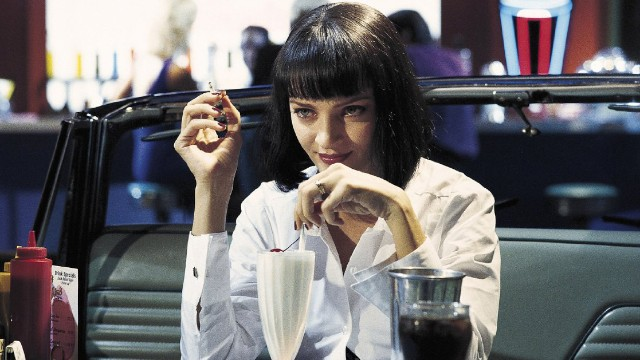 "From ""The Fox Force Five"" failed TV pilot to a heroin overdose, Mia Wallace (Uma Thurman) is the reigning queen of the film."