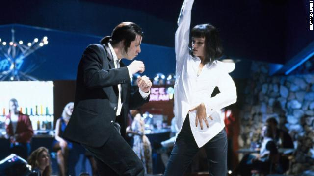 """Pulp Fiction"" revived the career of John Travolta, who had faltered in Hollywood after becoming a pop culture phenomenon in films such as ""Saturday Night Fever"" and ""Grease."" He revisits his dancing skills in the Tarantino film in this scene where he takes Thurman out for a night on the town."