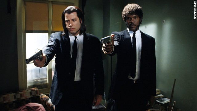 "Say what one more time! From its premiere in September 1994, ""Pulp Fiction"" has been a treasure-trove of quotes, a fan favorite and a star vehicle for John Travolta and Samuel L. Jackson, who play Vincent Vega and Jules Winnfield, respectively. Here's a look back at some of the film's memorable scenes:"