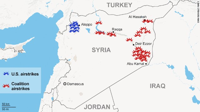 Al qaeda group leader killed in airstrikes in syria cnn map airstrikes in syria gumiabroncs Gallery