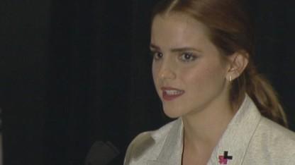 Emma Watson's speech on gender equality
