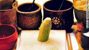 Fresh wasabi: top sushi chefs might not appreciate an order for extra.