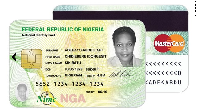 The card will be rolled out to 13 million Nigerians in the pilot phase