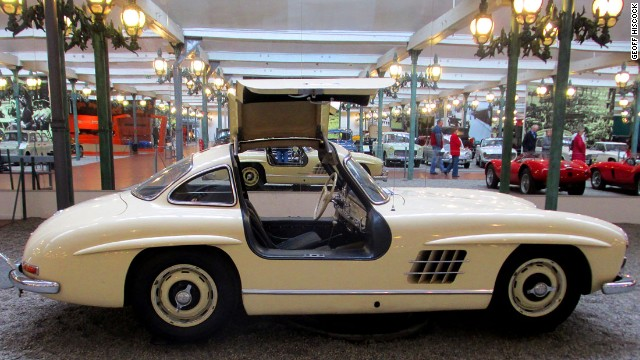 This 1955 Mercedes-Benz 300 SL Gullwing was personally driven by motoring obsessive Fritz Schlumpf.