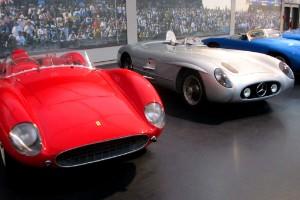 Ferrari, Mercedes y Gordini