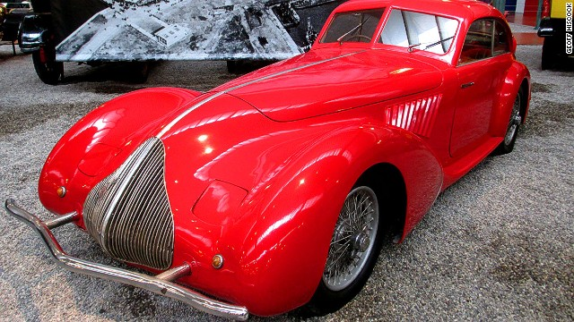 The Schlumpf collection resembles a who's who of the automotive world and includes this 1936 Alfa Romeo 8c 2900 A Pinin Farina Berlinett.
