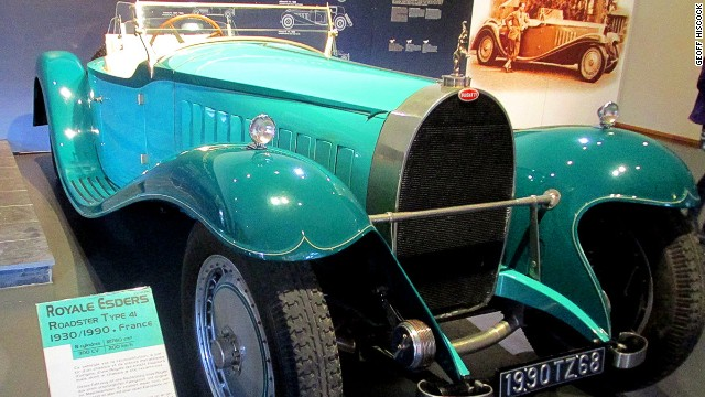 Not the real thing, sadly. This Bugatti Royale Esders is a 1990 reconstruction of the original.
