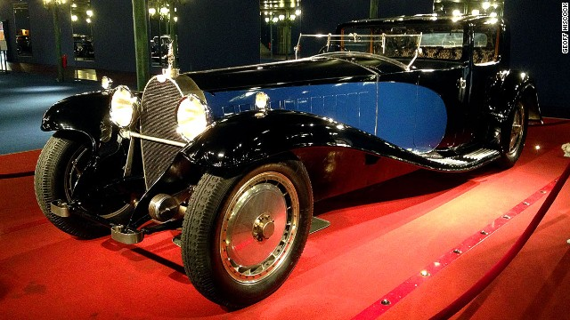 This 1929 Bugatti Royale Coupe Napoleon is one of only six Royales produced by Bugatti and is likely worth millions of dollars. It was once Ettore Bugatti's personal car.