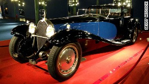 Luxury on wheels: A 1929 Bugatti Royale Coupe Napoleon