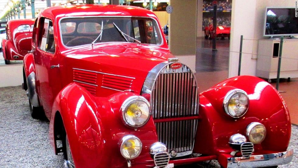 El paraíso Bugatti