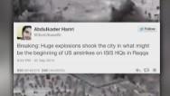 Tuitero informó primero del ataque a ISIS