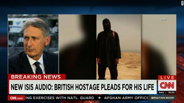 UK close to identifying ISIS beheader