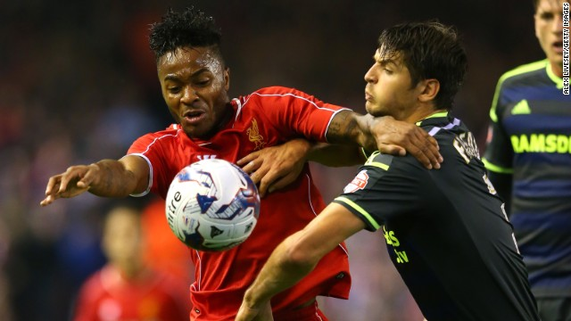Dyke is also worried about the lack of young English players at Premier League clubs. Liverpool's Raheem Sterling is one of the few young England internationals currently playing for a top Premier League club.