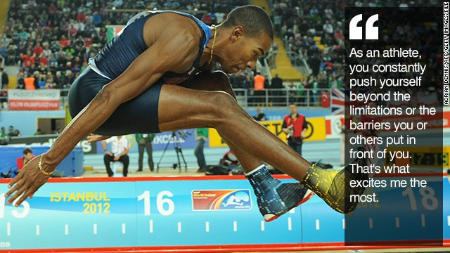 Christian Taylor Triple Jump Champ Leaping Beyond The