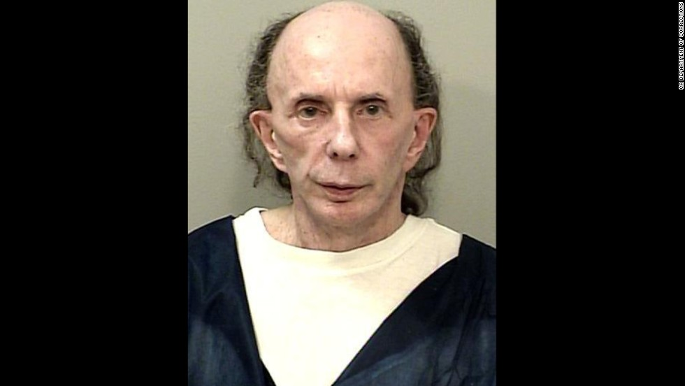 A photo of Phil Spector released in September 2014 shows the toll that prison has taken on the former music mogul. The picture was taken of Spector -- who is serving time for the 2003 killing of actress Lana Clarkson -- in 2013 at a prison in Corcoran, California.