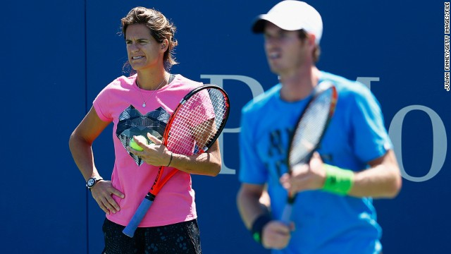 Andy Murray appointed former French star Amelie Mauresmo as his coach in June. The Scot tweeted in support of Garcia following the announcement by the STF.