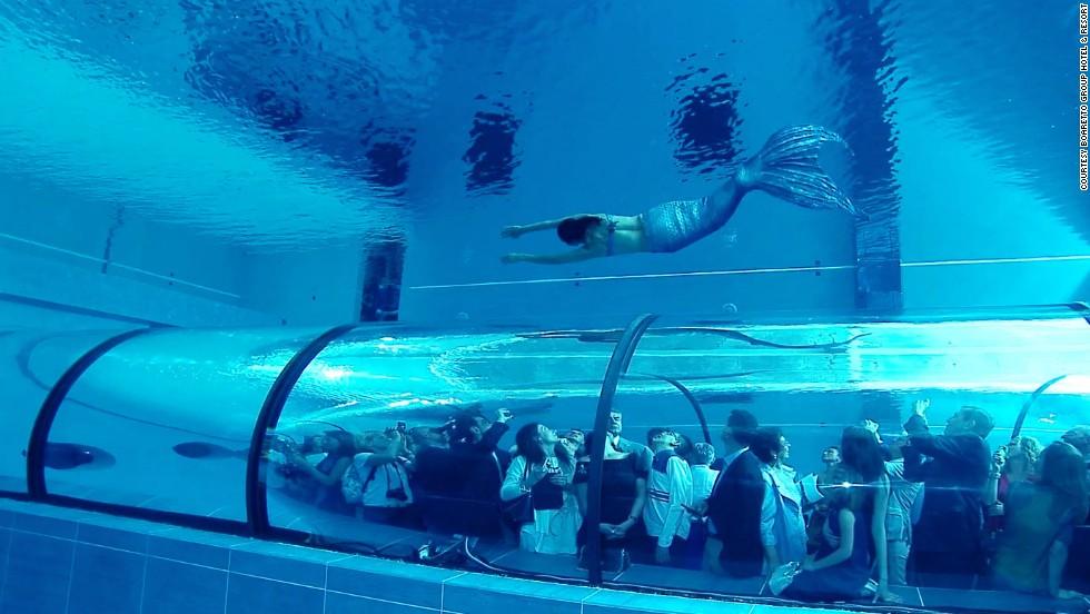 Espectáculo subacuático