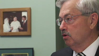 Branstad's superstition exposed