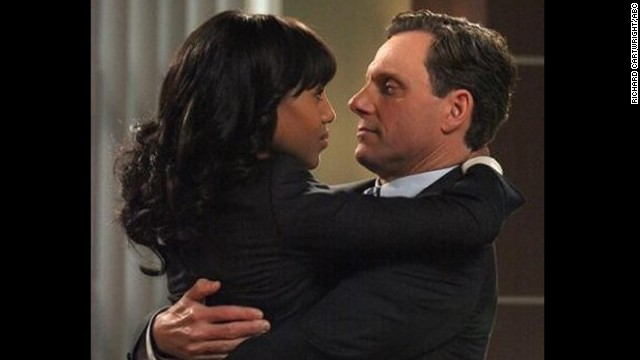 Kerry Washington and Tony Goldwyn star as Olivia Pope and President Fitzgerald Grant in
