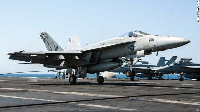 Pentagon: New airstrikes target refineries used by ISIS in Syria