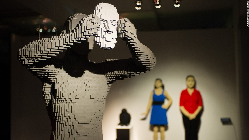 Arte con Lego, pieza por pieza
